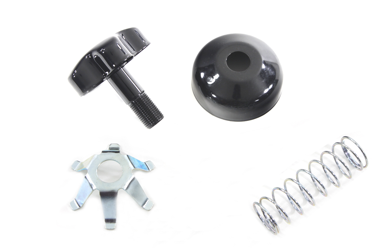 FL Fork Steering Damper Knob Kit Black
