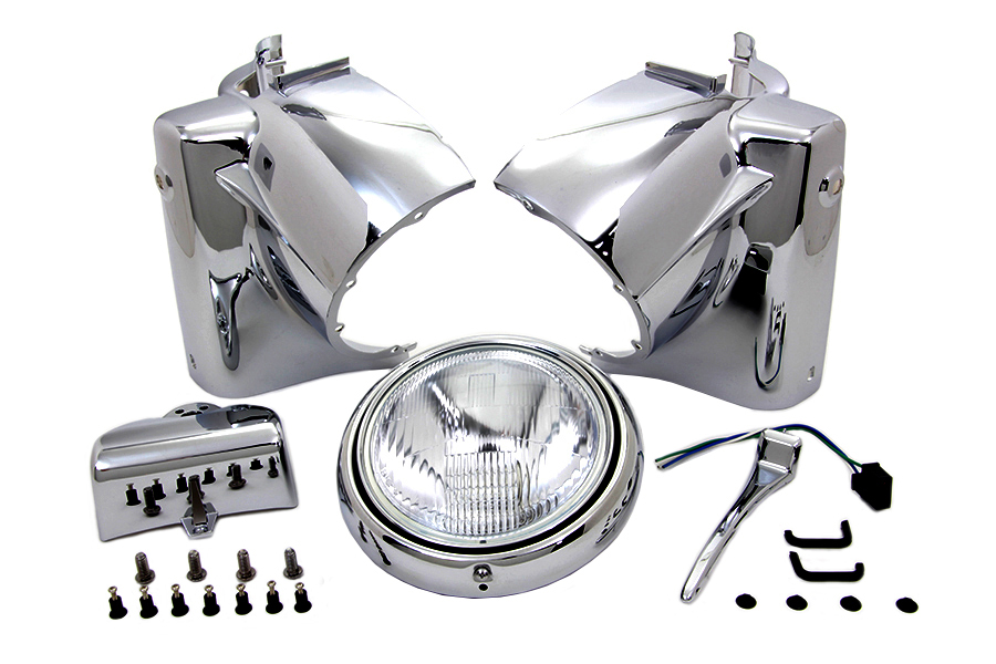 Headlamp Cowl Assembly Chrome