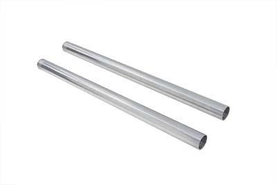 """Hard Chrome 39mm Fork Tube Set 29"""" Total Length"""