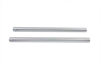 """Hard Chrome 39mm Fork Tube Set 31"""" Total Length"""