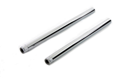 "Chrome Fork Tube Set 4"" Over Stock"