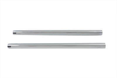 "*UPDATE Chrome 33.4mm Fork Tube Set 26-3/4"" Total Length"