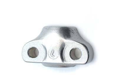 *UPDATE OE Chrome Fork Slider Axle Cap Left Side
