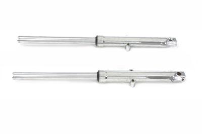 39mm Fork Tube Assembly with Chrome Sliders