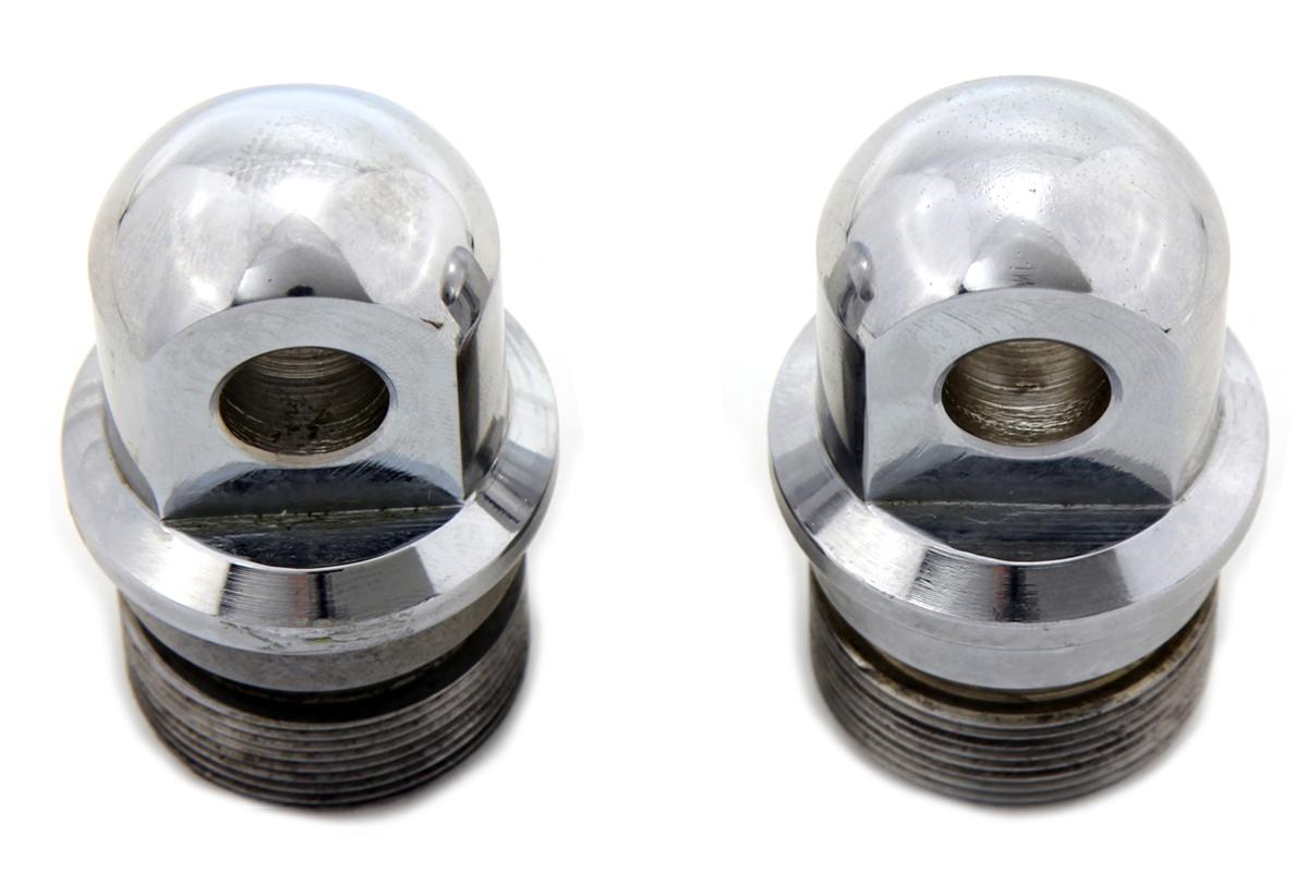 Zinc Fork Tube Plug Set