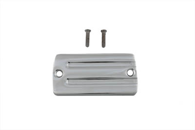 Handlebar Master Cylinder Cover Chrome Alloy