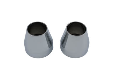 Fork Dust Shield Chrome Billet Alloy