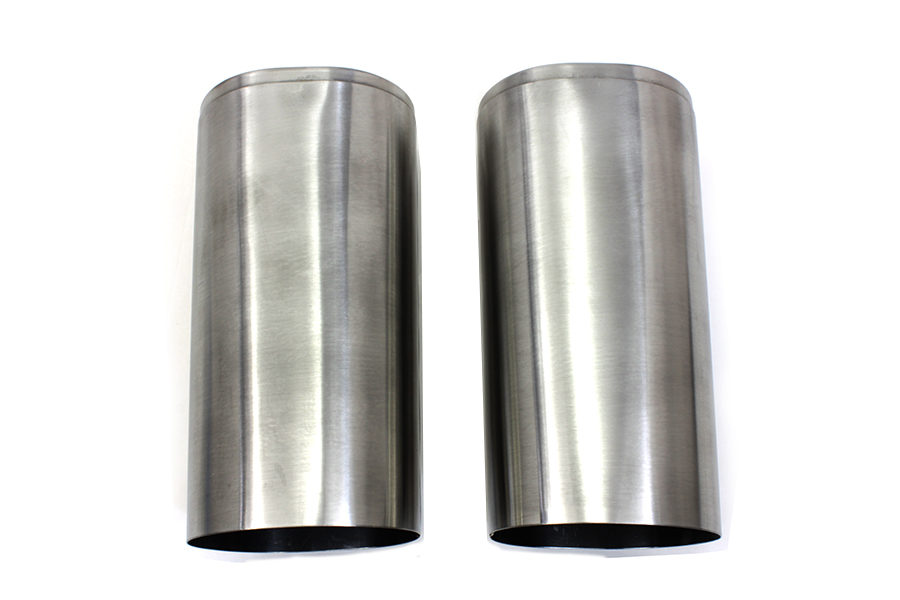 Fork Slider Cover Set Stainless Steel