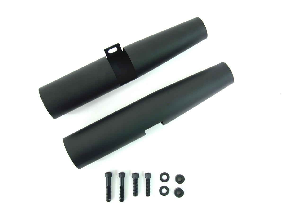 Black 39mm Fork Shrouds