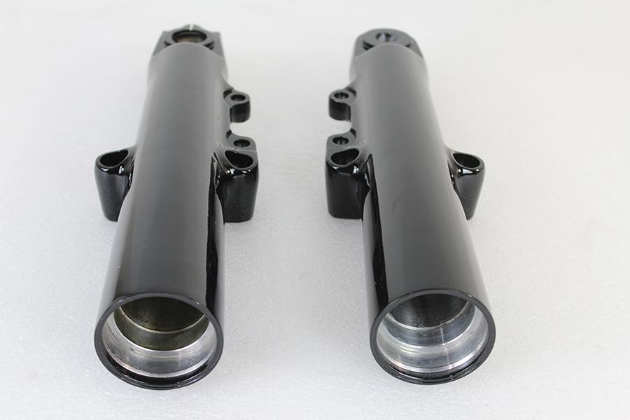 Black 49mm Lower Fork Slider Set