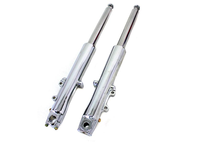 41mm Fork Slider Assembly Chrome