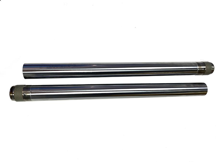 """Hard Chrome 41mm Fork Tube Set 20-7/8"""" Total Length"""