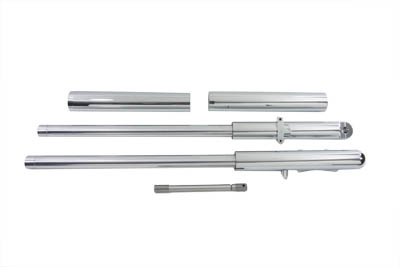 Billet Mega Fork Slider Set Chrome