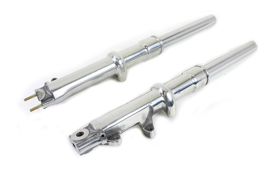 FXWG Polished Lower Leg and Fork Tube Set
