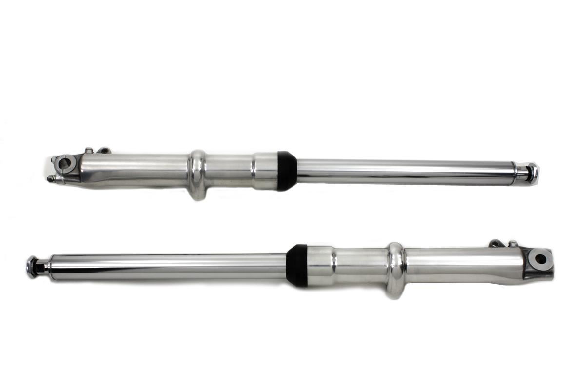 41mm Fork Slider Assembly with Polished Sliders