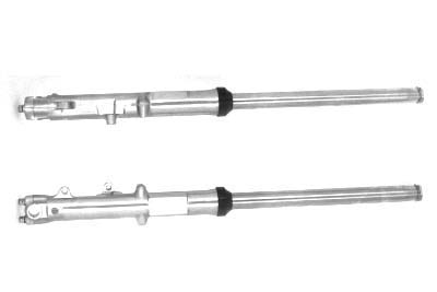 *UPDATE 35mm Fork Assembly with Polished Sliders Dual Disc