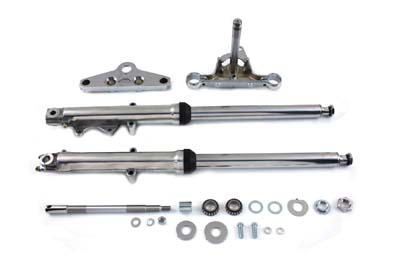 Fork Assembly with Polished Sliders