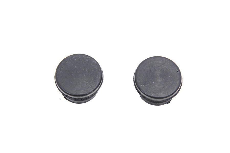 ChiZeled Handlebar Plugs Black Plastic