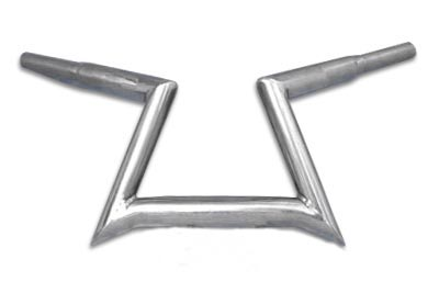 "6-1/2"" Incysa 'Z' Bar Handlebar without Indents"