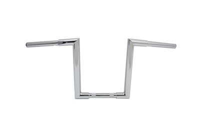 "11"" Fatty 'Z' Bar Handlebar without Indents Chrome"