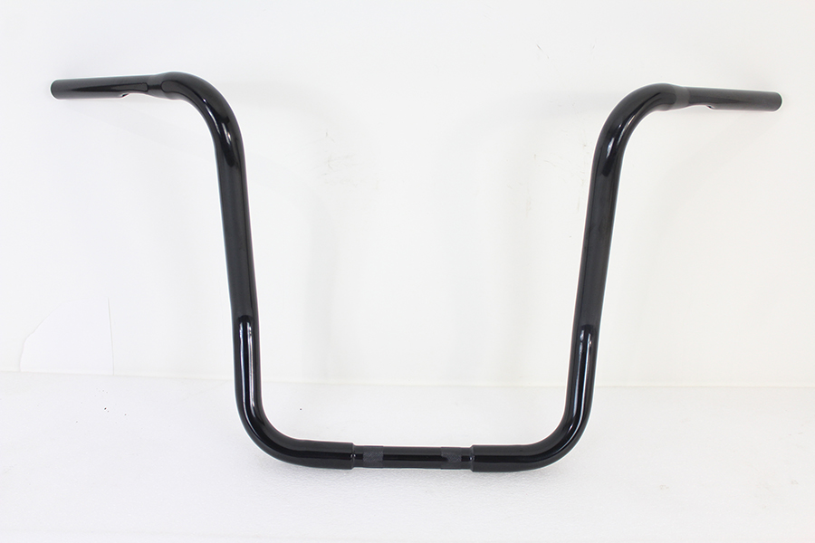 "16"" Bagger Handlebar with Indents Black"
