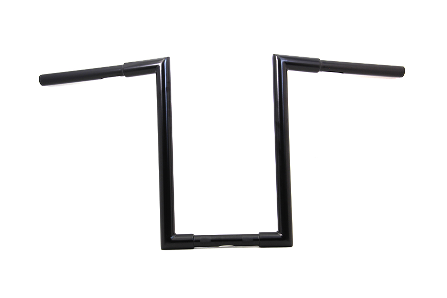 """14"""" Fatty 'Z' Bar Handlebar without Indents Black"""