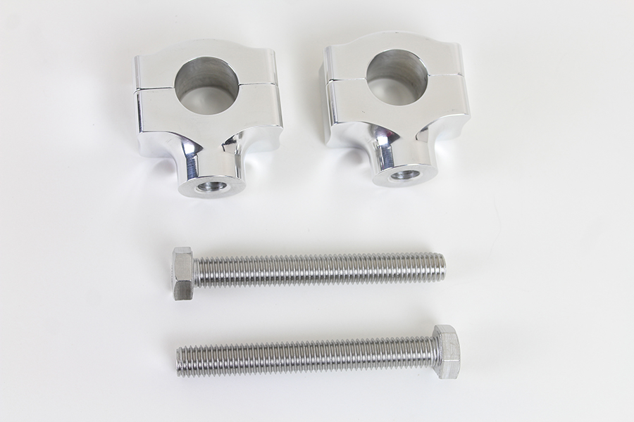 "1"" Handlebar Riser Set Chrome"