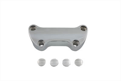 Smooth Riser Top Clamp Chrome