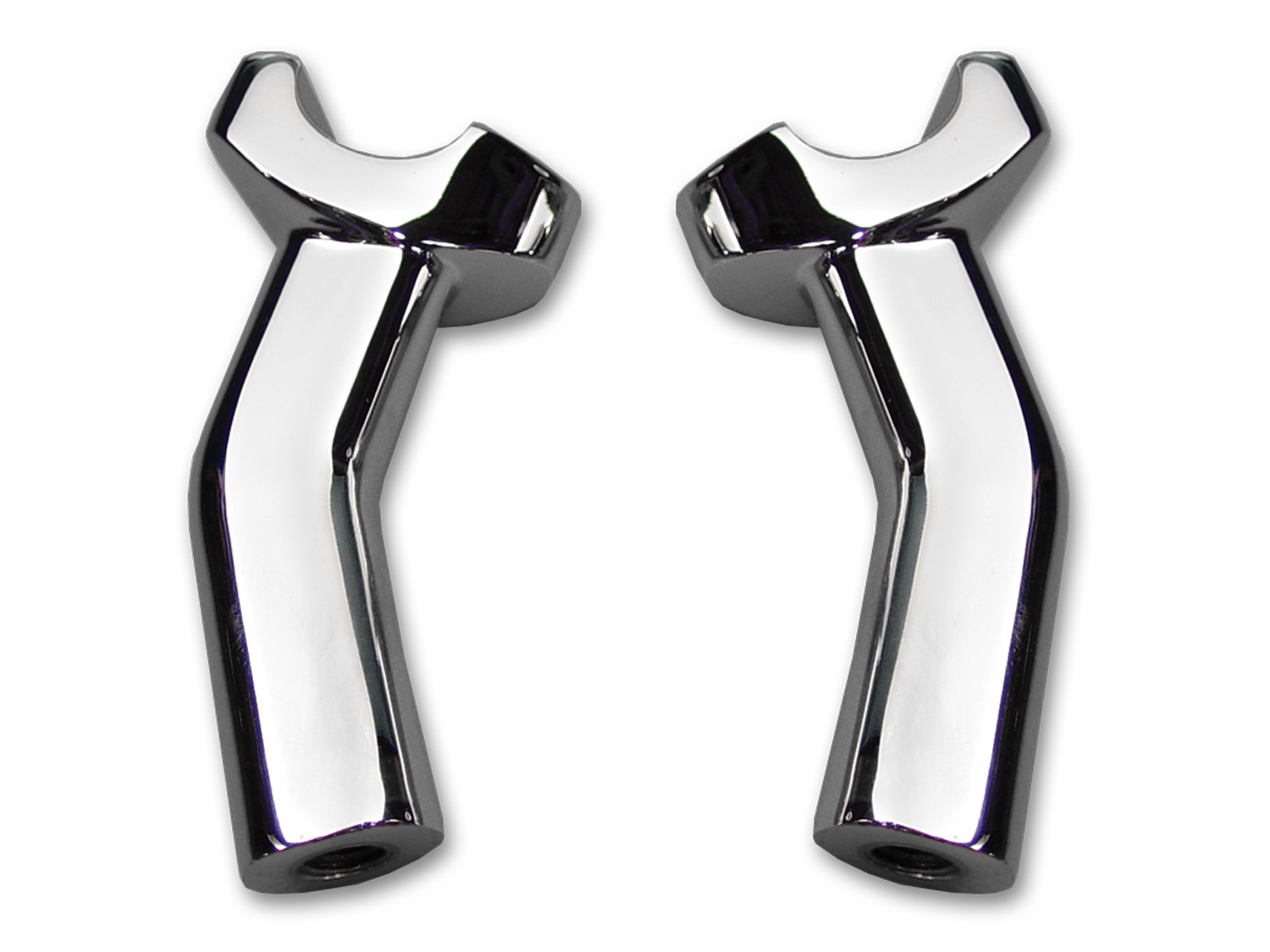 "4-1/2"" Pullback Riser Stem Chrome"