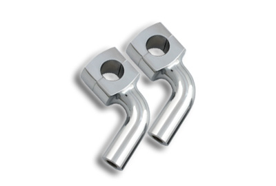 "*UPDATE 3"" Pullback Riser Set Chrome"