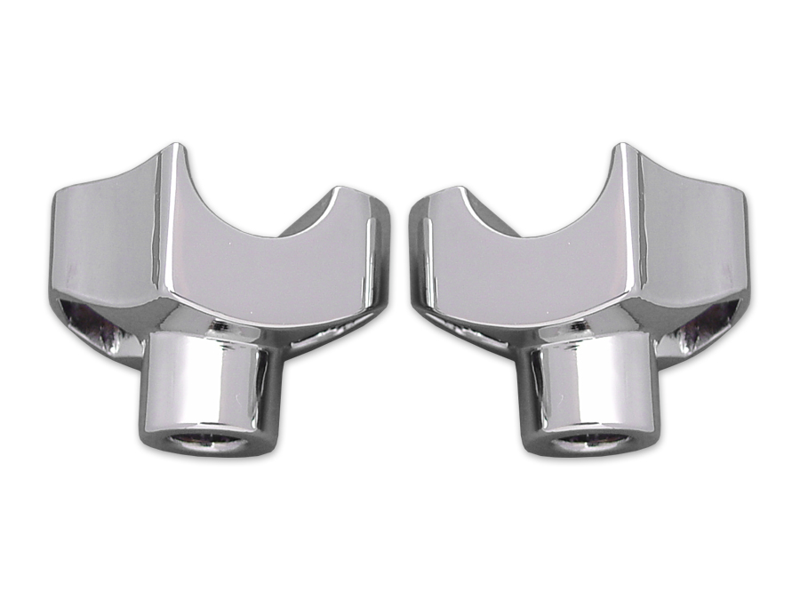 Chrome Riser Stem Set