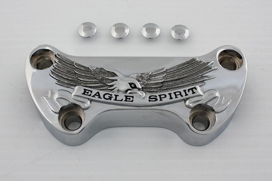 Eagle Spirit Riser Top Clamp Chrome