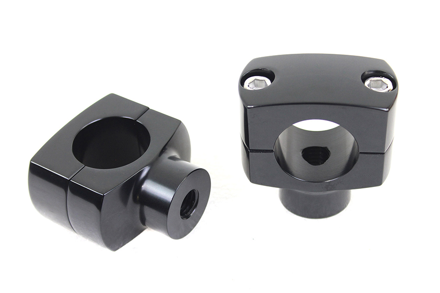 "1-1/4"" Shorty Riser Set Black"