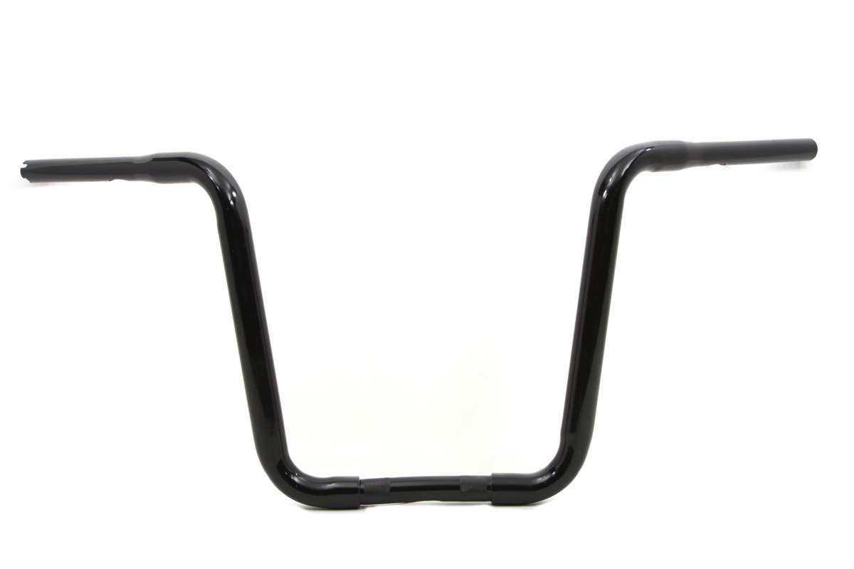 Narrow Body Ape Hanger Handlebar With Indents