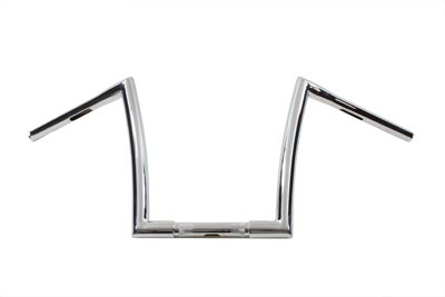 "10-1/2"" Z-Bar Handlebar with Wiring Holes"