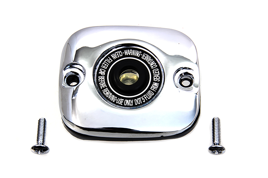 Chrome Plated Handlebar Master Cylinder Cover