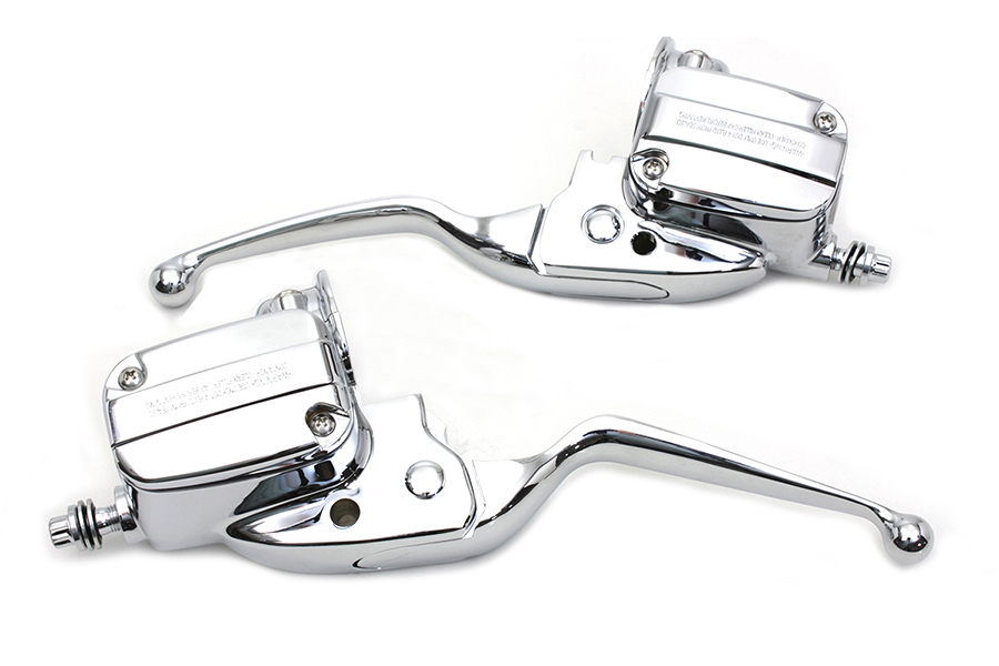 Handlebar Control Kit Chrome with Hydraulic Clutch