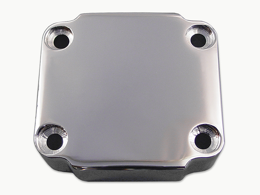 Handlebar Control Plain Switch Housing Chrome