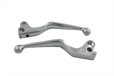 Chrome Wide Hand Lever Set