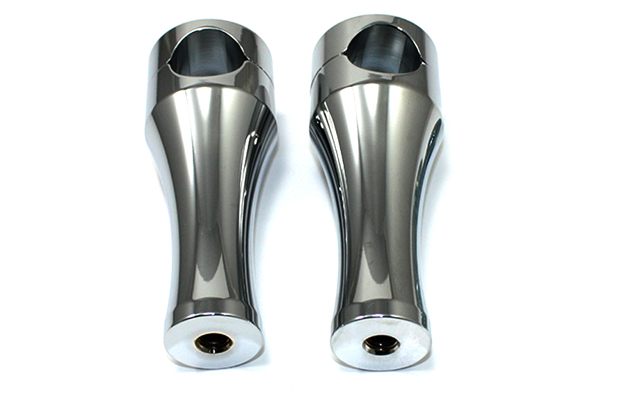 "5"" Solid Billet Chrome Riser Set"