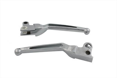 Chrome Hand Lever Set with Ball Ends