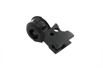 Hand Lever Bracket with Clamp Black