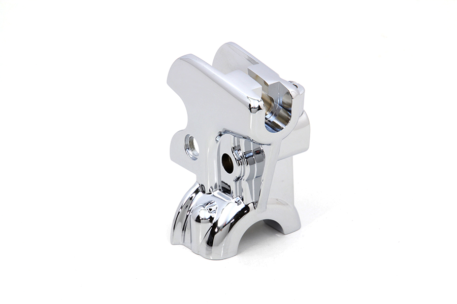 Chrome Clutch Hand Lever Bracket
