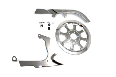 Chrome Belt Guard Kit