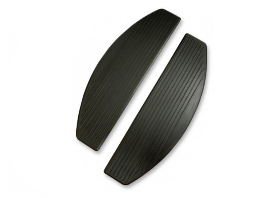 M8 Replacement Footboard ISO Rubber Pad Set