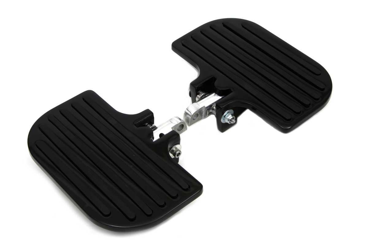 Black Passenger Mini Footboard Set