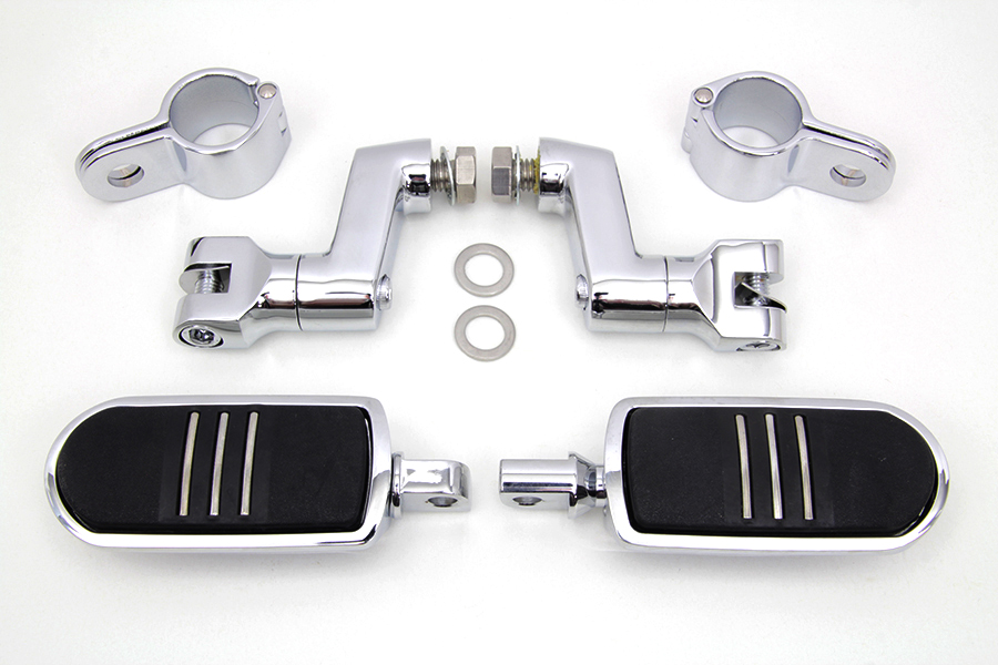 Chrome Streamliner Footpeg Kit