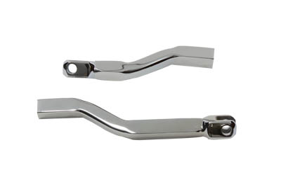 Chrome Footpeg Support Bar Set
