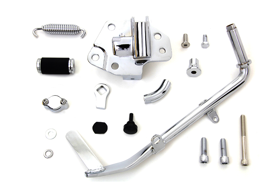 Chrome Jiffy Kickstand Kit