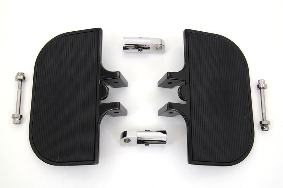 Passenger Mini Footboard Set Black